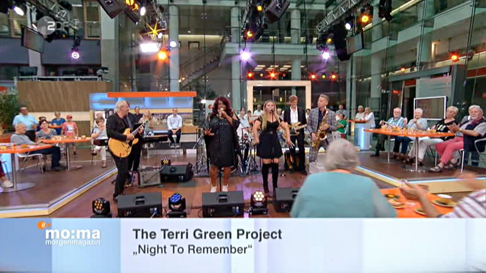 The Terri Green Project im ZDF Morgenmagazin mit Night to Remember